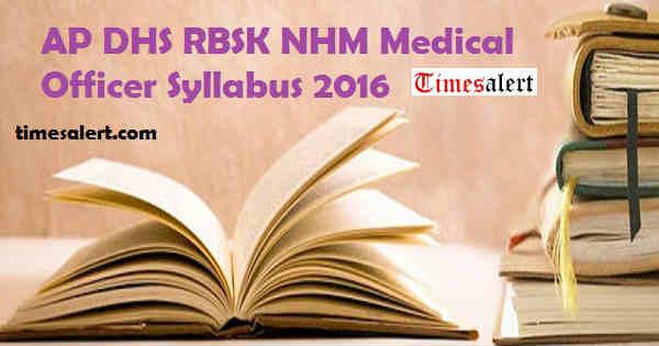 AP RBSK Syllabus 2016
