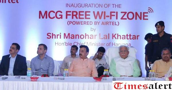 Airtel free Wi-Fi zone