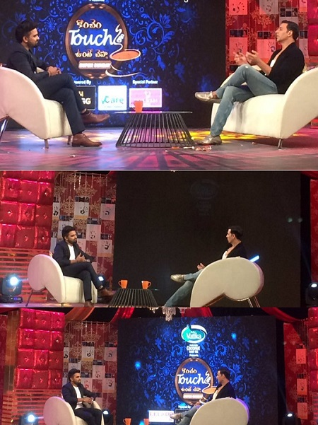 Akshay Kumar in Konchem Touch Lo Unte Chepta TV Show