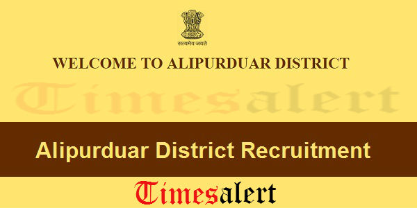 Alipurduar District Recruitment