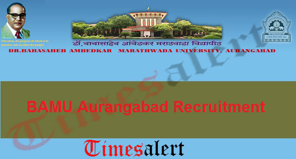 BAMU Aurangabad Recruitment