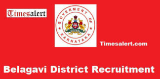 Belagavi District Recruitment