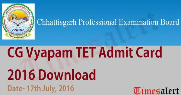 CG-Vyapam-TET-Admit-Card-2016