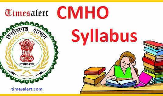 CMHO Syllabus