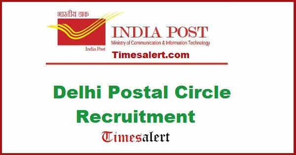 Delhi Postal Circle Recruitment