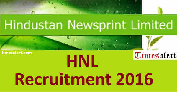 HNL Recruitment 2016