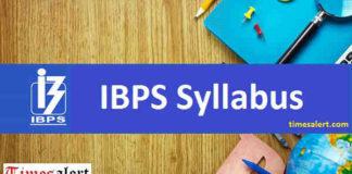 IBPS Syllabus