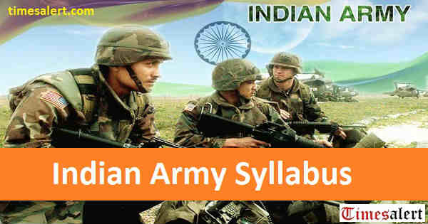 Indian Army Syllabus