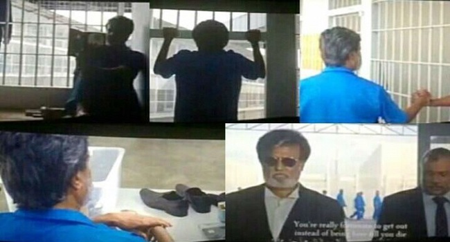 Kabali Movie introduction Scene