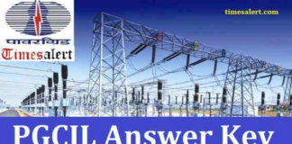 PGCIL-Answer-Key
