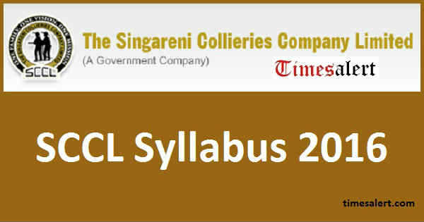 SCCL Syllabus 2016