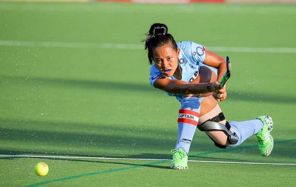 Sushila Chanu Indian Women's Hockey Team Rio Olympics 2016