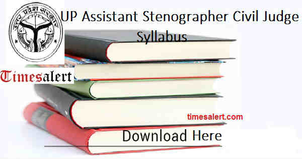 UP Assistant Stenographer Syllabus