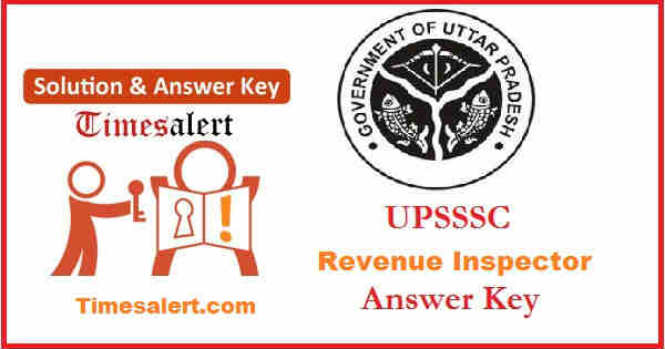 UPSSSC Answer Key