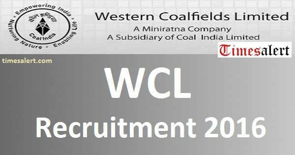 WCL Recruitment 2016