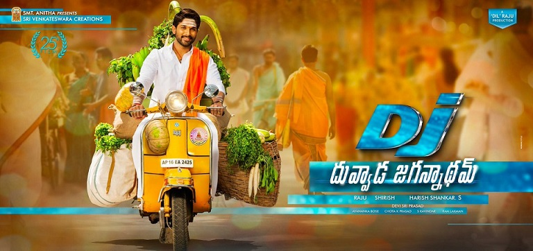 Duvvada Jagannadham First Look
