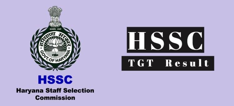 HSSC TGT Results