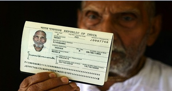 Indian 120 Years Old Man Passport