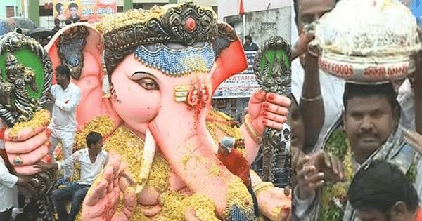 Balapur Ganesh 2016 Laddu Auction