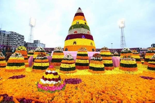 Happy Bathukamma Images