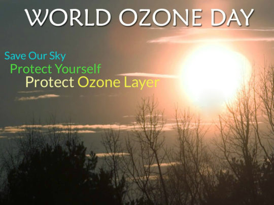 Happy World Ozone Day Greetings