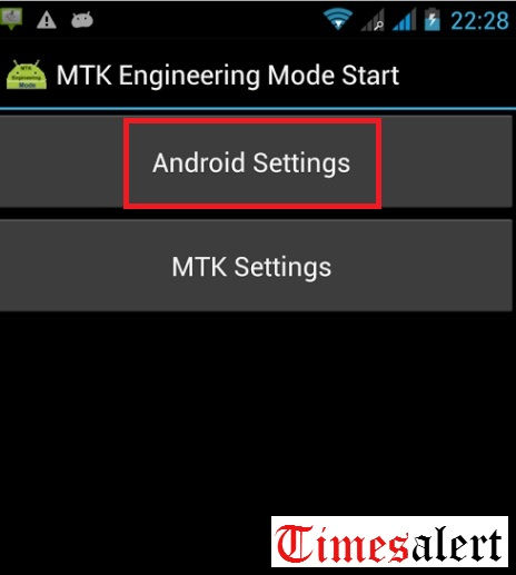 MTK Engineering mode App