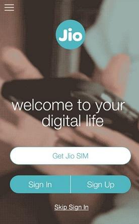 Myjio App Get Jio SIM