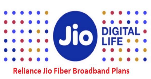 reliance jio fiber broadband plans tariff details giga. Black Bedroom Furniture Sets. Home Design Ideas