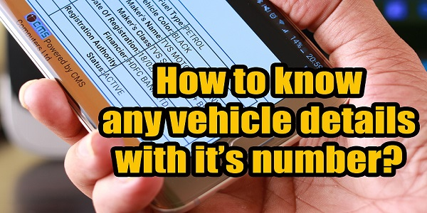 Vehicle Details using Number
