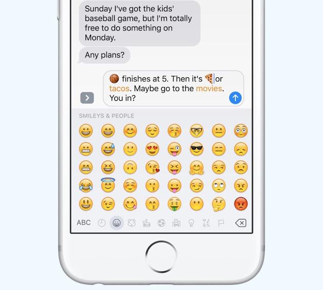 ios10-Emoji tap