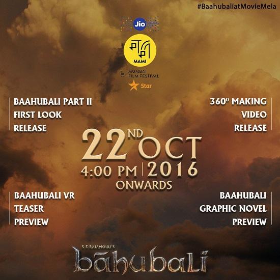 Baahubali 2 First Look Teaser 360 Making Video
