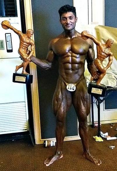 G Balakrishna Wins Mr Asia 2016