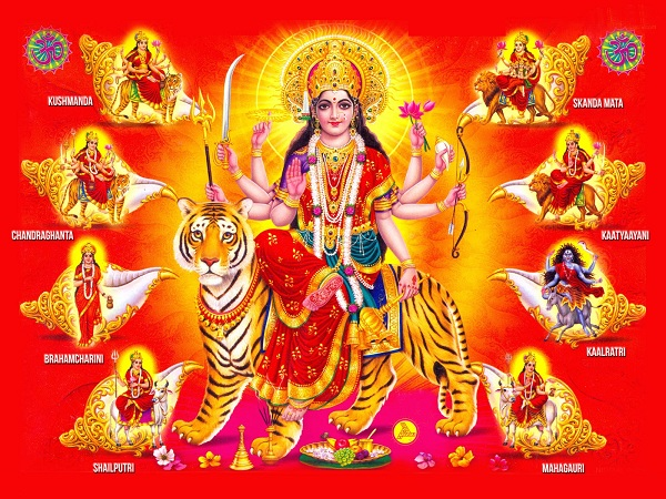 Happy Durga Ashtami Whatsapp Dp