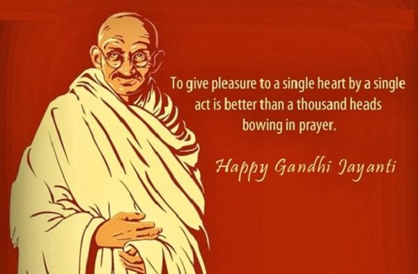 Happy Gandhi Jayanti Greetings