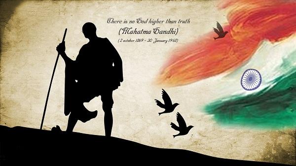 Happy Gandhi Jayanti Whatsapp Dp