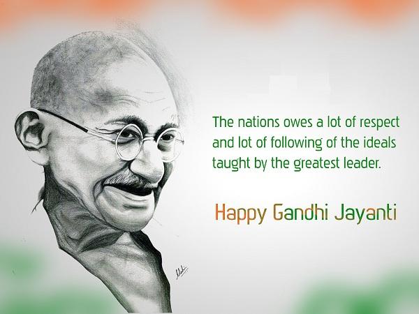 Happy Gandhi Jayanti Whatsapp Photos