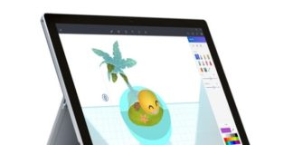 Microsoft Paint 3D Preview App