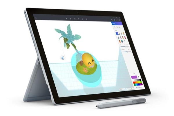 Microsoft Paint 3D Preview App