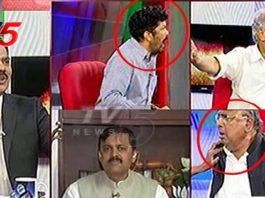 Posani Krishna Murali Fight In TV 5