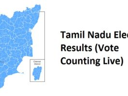 Tamilnadu Ullatchi Therthal 2016 Election Results