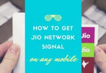 Reliance Jio Sim No Network Signal Problem Solution