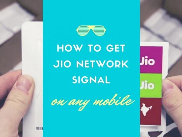 Reliance Jio Sim No Network Signal Problem Solution
