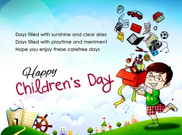Happy Childrens Day Poems