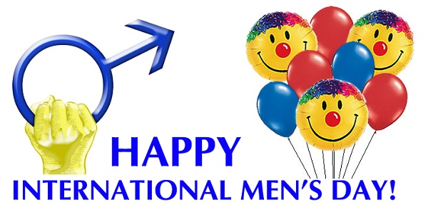 Happy International Mens Day Facebook Status