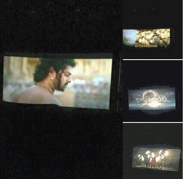 Baahubali 2 Leaked Images