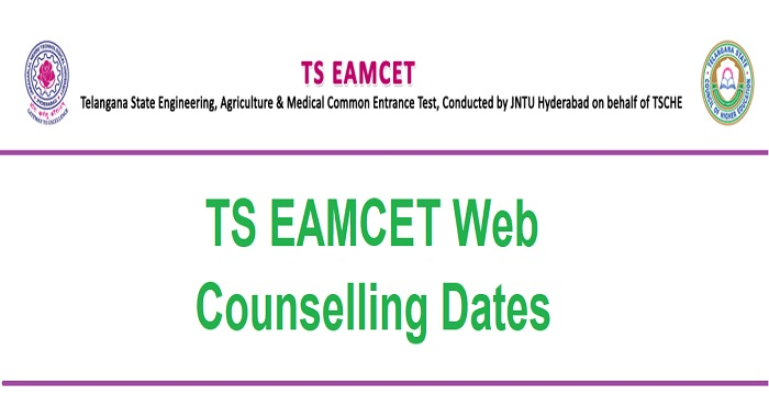 TS EAMCET Web Counselling Dates