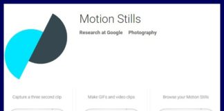 Google Motion Stills App Apk