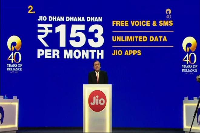 Jio Free Phone plans