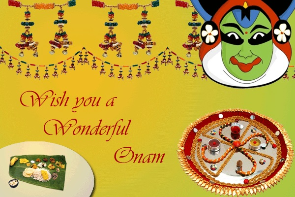 Happy Onam Facebook Images