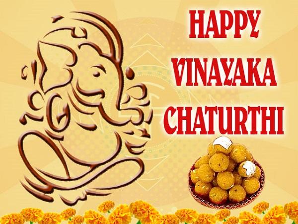 Happy Vinayaka Chavithi Wallpapers